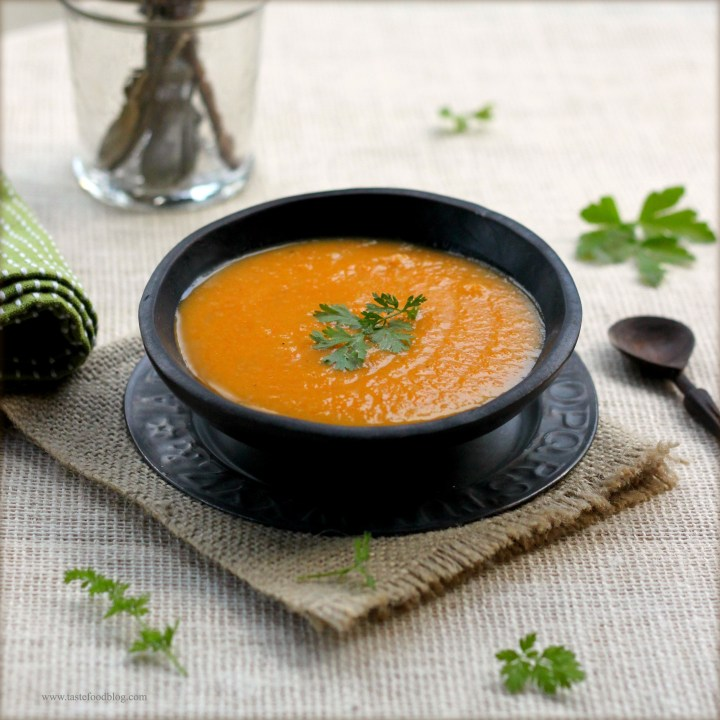 Spicy Butternut Squash (or Pumpkin) Soup