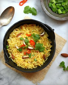 Homemade Rice Pilaf - easy and delicious