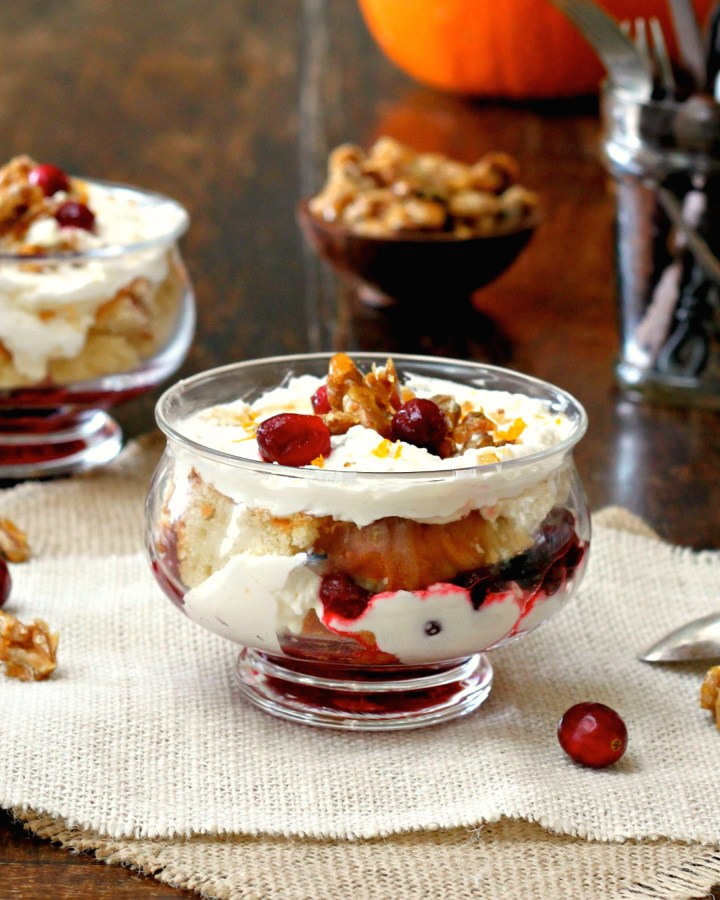 Do-Ahead Cranberry Trifle Dessert