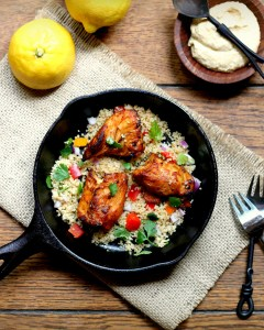 Chipotle Chicken and Couscous Salad