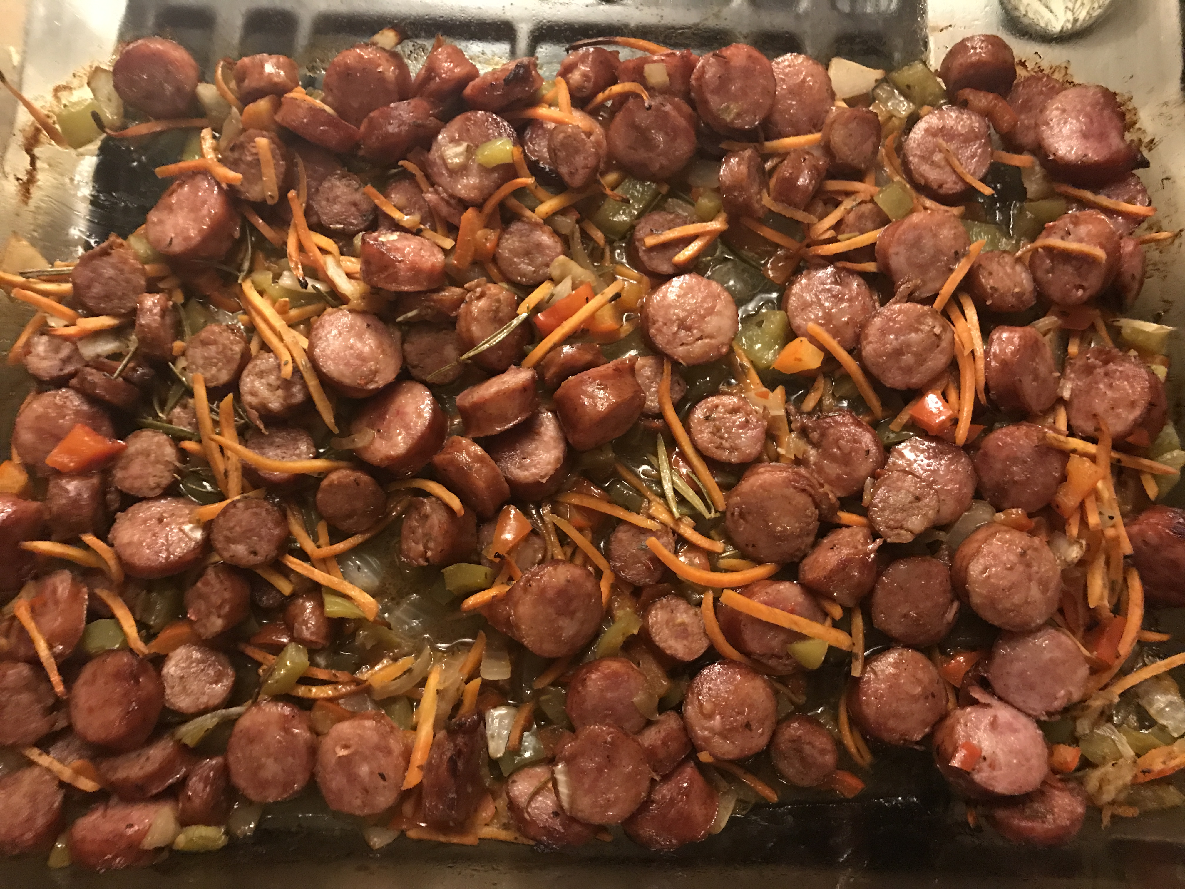 Oven Roasted Sausage and Peppers