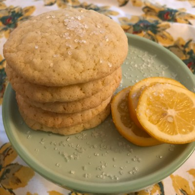 Meyer Lemon Sugar Cookies