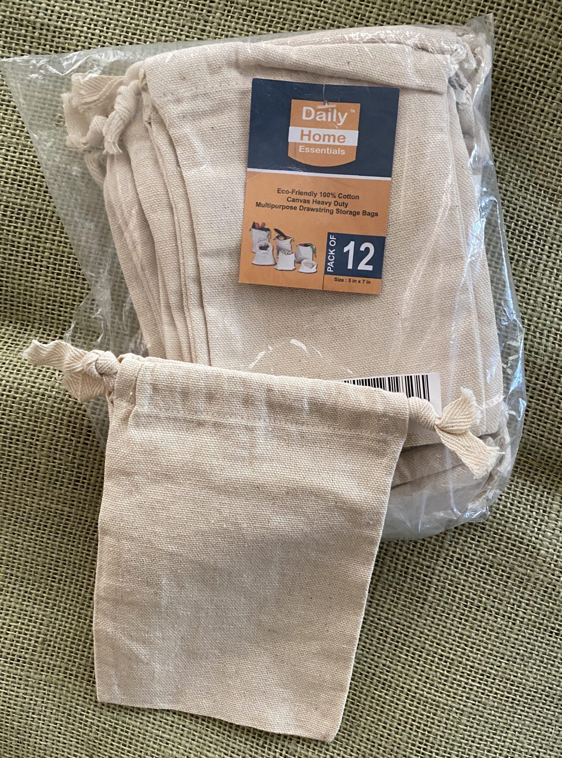 Muslin Drawstring Bags
