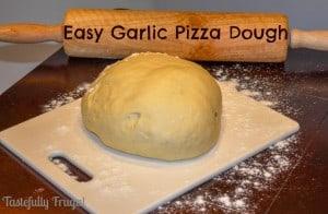 EasyGarlicPizzaDough