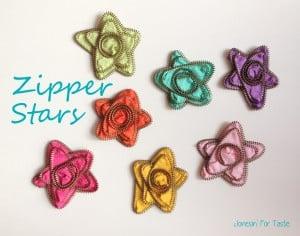 Zipper Stars from Jonesin For Taste