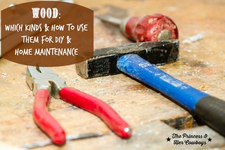 Which Woods To Use For DIY Projects