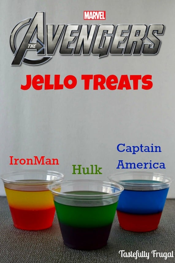 The Avengers Moves & Jello Treat: Learn to play like Hulk, Iron Man and Captain America and a delicious treat to follow. #AvengersUnite #ad #CollectiveBias @Walmart