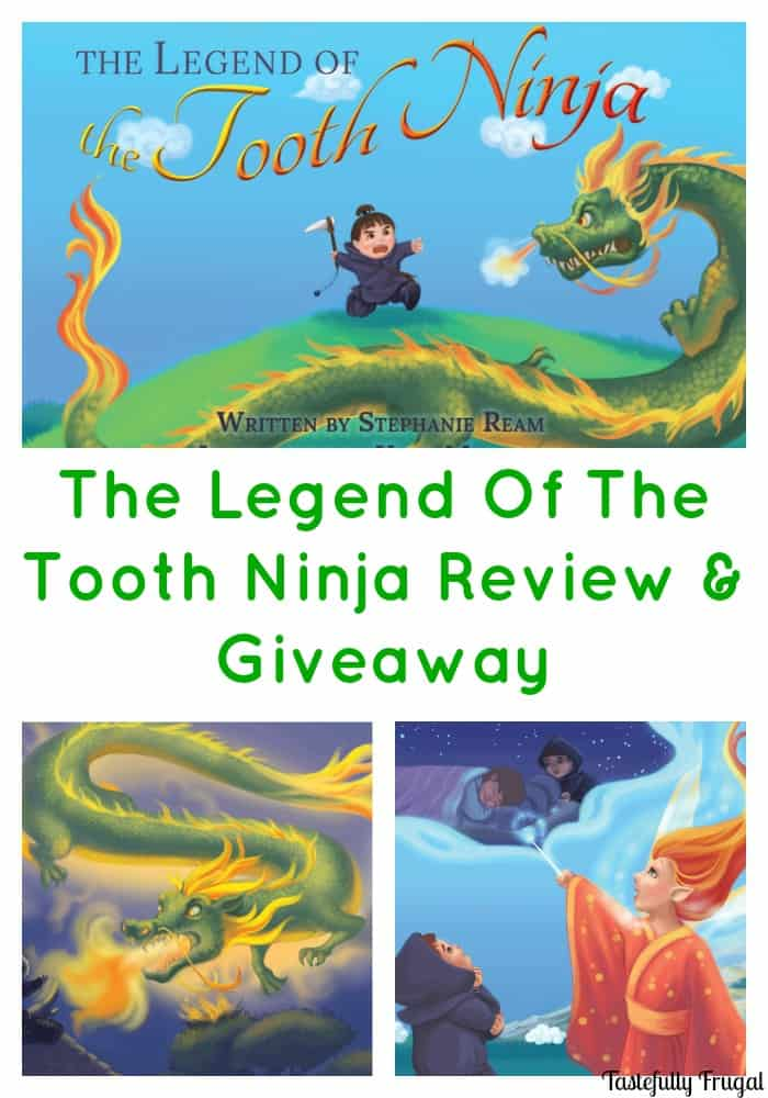 Are your kids having a tough time believing in the Tooth Fairy? Read them The Legend Of The Tooth Ninja