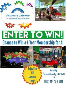 Discovery Gateway Giveaway: Win a 1 year family membership! www.tastefullyfrugal.org