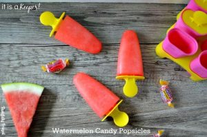Watermelon Candy Popsicles www.tastefullyfrugal.org