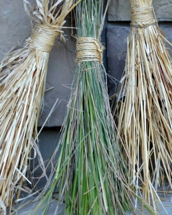 DIY Witches Brooms   Tastefully Frugal's 13 Frightfully Fun Days of Halloween