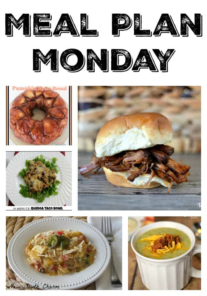 Meal Plan Monday #4 | Tastefully Frugal