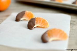 Dark Chocolate Dipped Oranges: A Sweet Citrus Treat That Is Good For You Too!