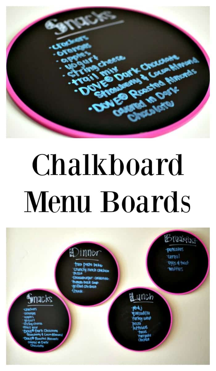 """Chalkboard Menu Boards: Never hear """"What do we have to eat?"""" again! AD #LoveDoveFruits #CollectiveBias"""
