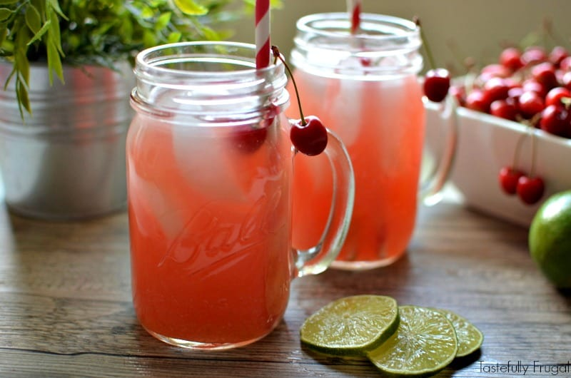 Image result for FRESH CHERRY LIMEADE