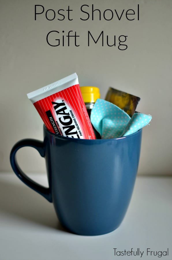 #ad Post Shovel Gift Mug: Say Thank You To The One Who Takes Care Of Snow Removal With This Affordable Gift Including No Sew Handwarmers #WinOverWinter @Target