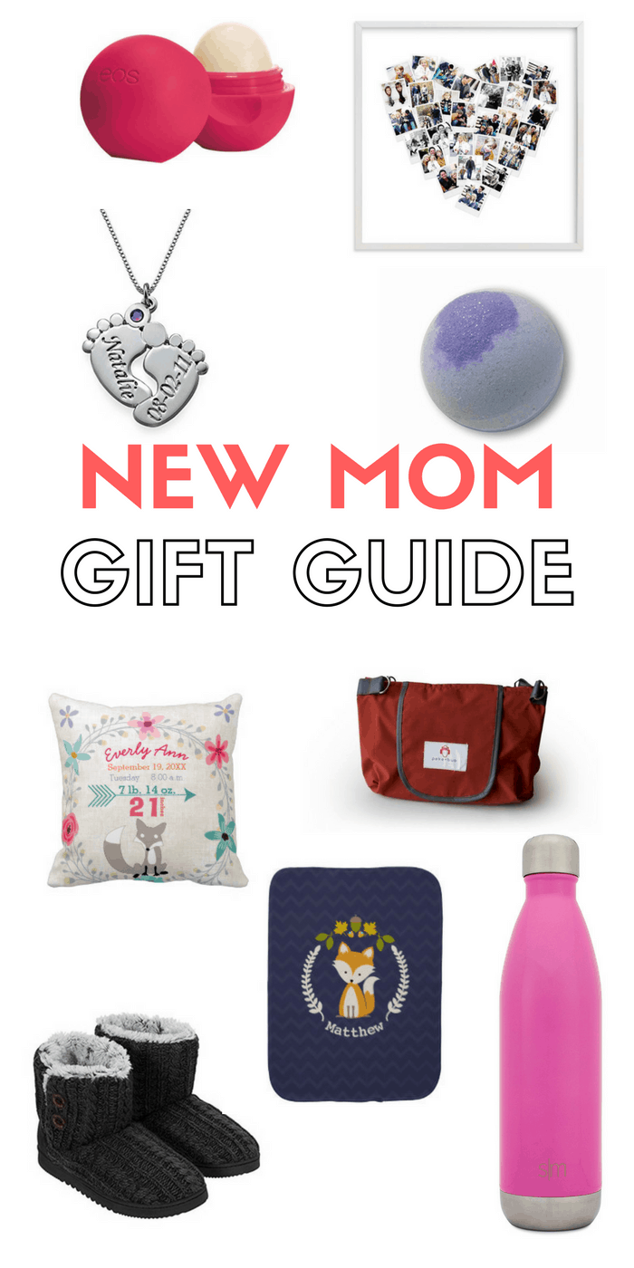 New Mom Gift Guide: Gift Ideas for new moms that will fit any budget; some under $10 | Tastefully Frugal
