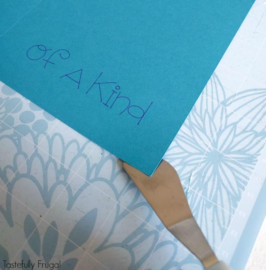 How To Make Custom Cards with Cricut Explore Air #ad #cricutmade