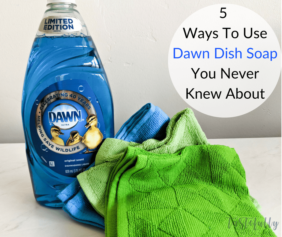 Dawn soap isn't just for dishes. Check out 5 unique ways you can use Dawn in and around your home and enter for a chance to win a VIP Wildlife Getaway! #ad #DawnWildlife40 #DawnDishSoap