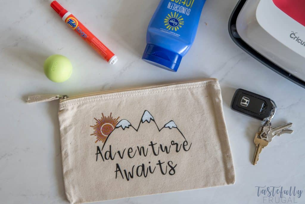 How To Apply Iron-On Vinyl and FREE Adventure Awaits image