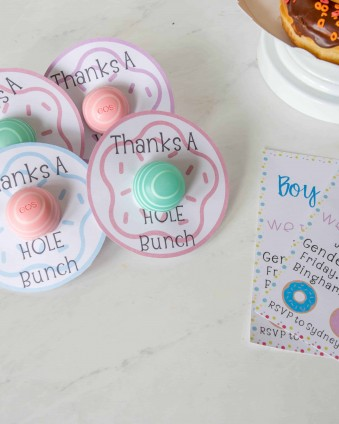 Easy Gender Reveal Party Ideas with Cricut #ad