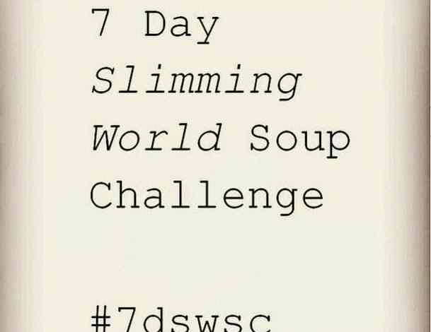My 7 Day Slimming World Soup Recipe Challenge March 2015