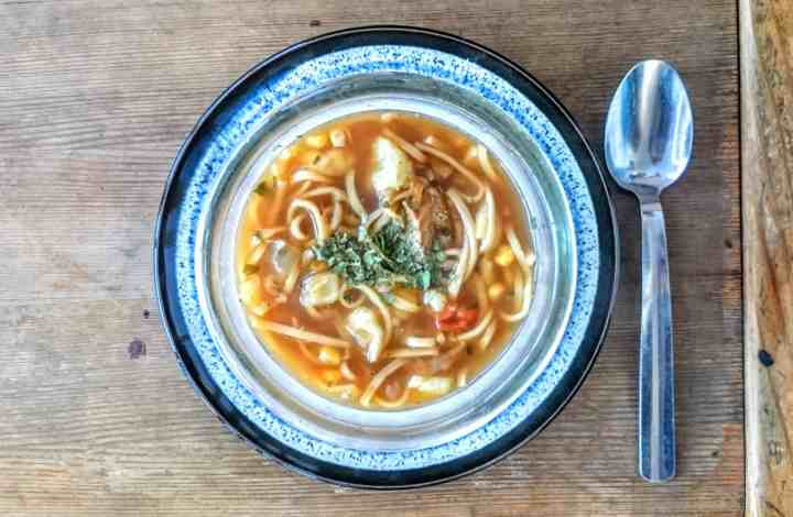 On a Lorraine Pascale Roll…. Slimming World Syn Free Fish Noodle Soup Maker Recipe