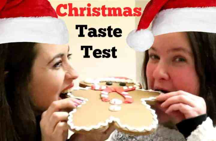 Christmas Chocolate & Treats Taste Test With Foodie Laura