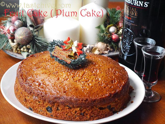 Traditional Christmas Fruit Cake (Kerala Plum Cake)