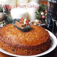 Traditional Christmas Fruit Cake (Kerala Plum Cake)