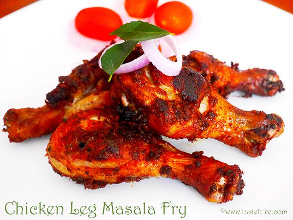 Chicken Masala Leg Fry Indian/Kerala Style (Kozhikkalu Masala Puratti Porichathu)/ Chicken Drumstick Masala Fry