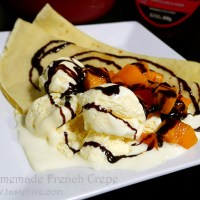 Homemade French Crepes / Basic Crepe Recipe