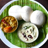 Coconut Chutney/Thenga Chammanthi (Easy Chutney recipe for Idli, Dosa, Vada)
