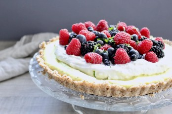 VEGAN lemon tart