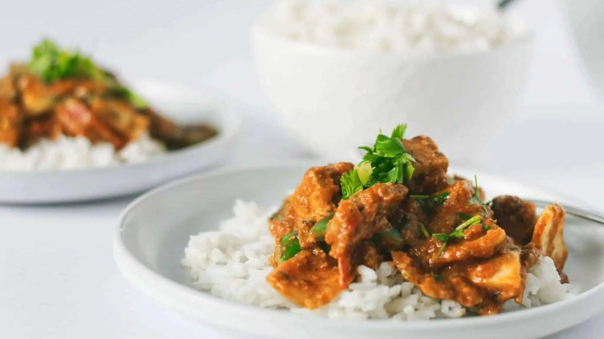 The best Tofu Tikka Masala – a classic veganized