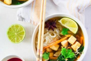 Pho Bo - a classic veganized