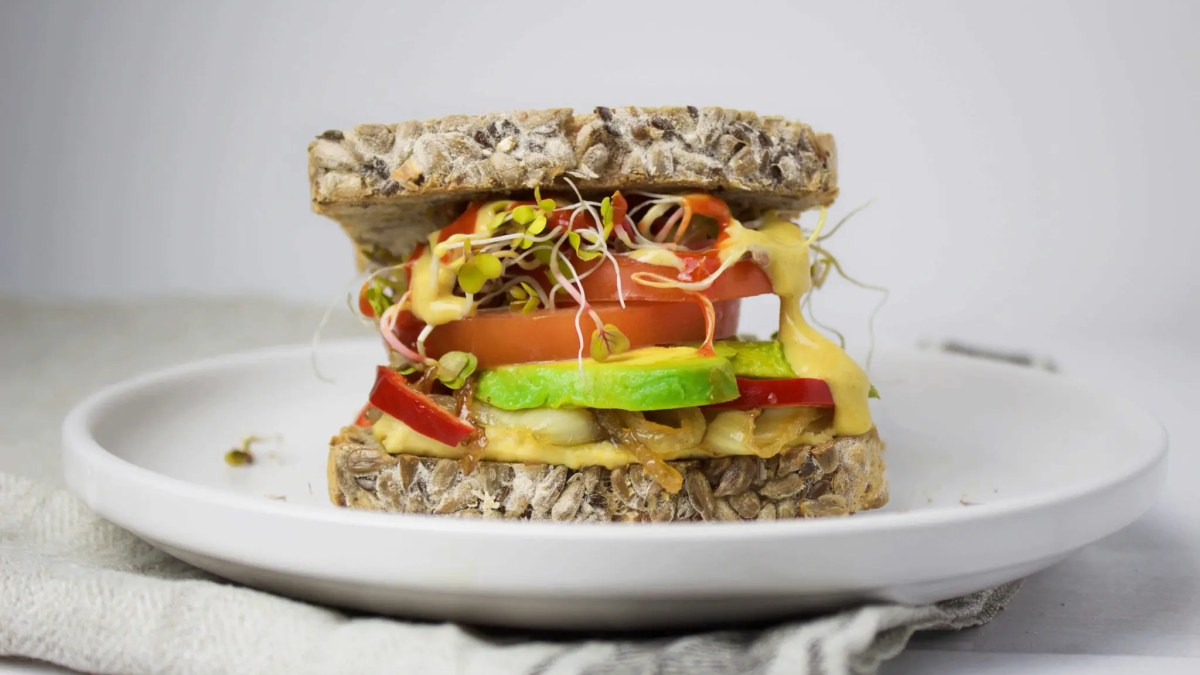 Spicy Sandwich (VeGaN)