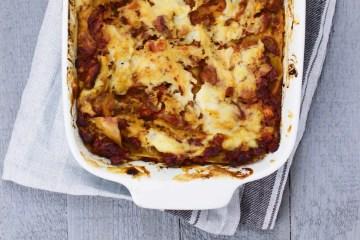 Lasagna Bolognese - a classic veganized