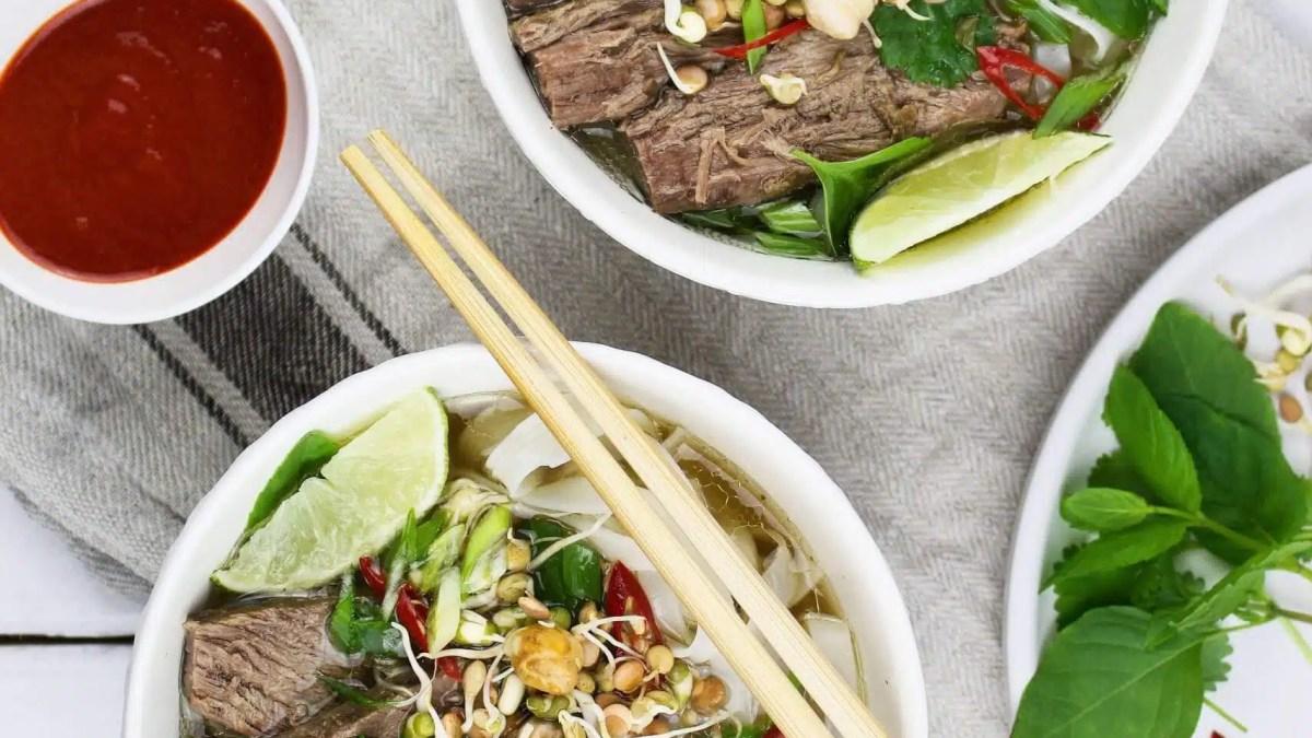 PHO BO – The classic Vietnamese soup recipe