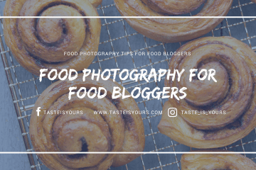 Food Photography for food bloggers
