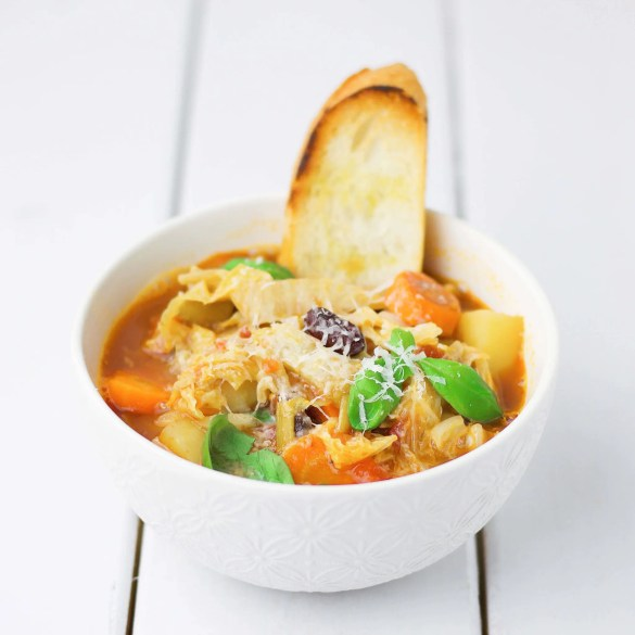The perfect Minestrone (VeGaN)