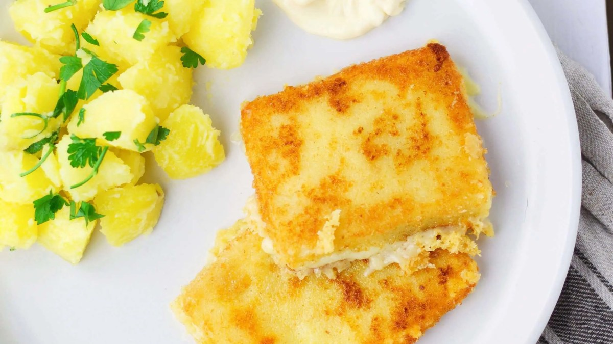 Fried Cheese (easy recipe for Slovak classic)