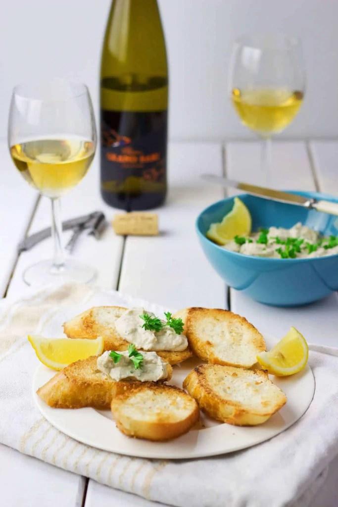 The best smoked mackerel paté