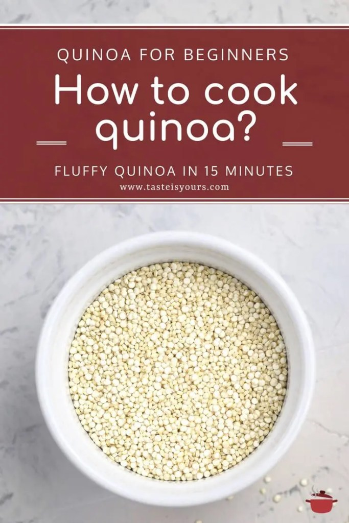 How to cook quinoa?