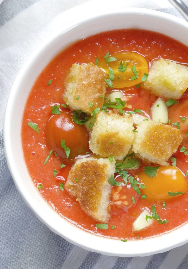 Best summer Gazpacho to cool you and your friends down during a heatwave