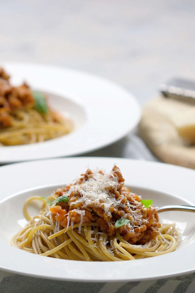 Easy homemade Bolognese sauce which will save you money as you will never have to buy it in the grocery store ever again (alcohol-free). 1