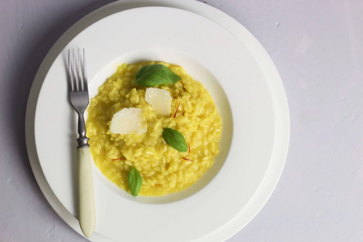 Saffron risotto - a perfect libido boosting dish.