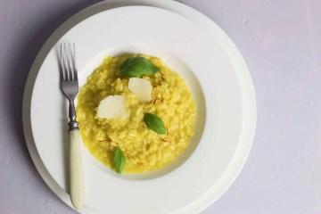 Saffron risotto - a perfect libido boosting dish.