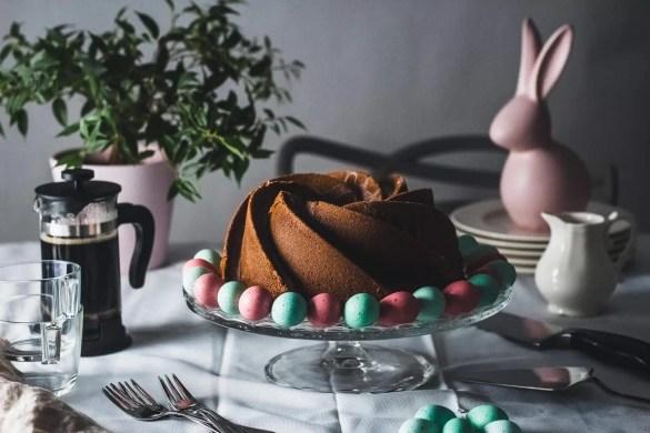 Easter Saffron Bundt Cake