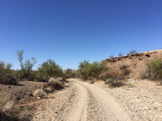 ATV Trails via Lake Alamo State Park